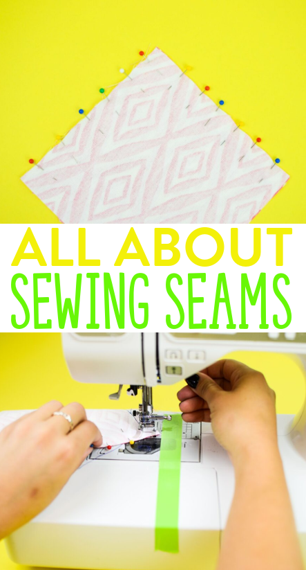 all about sewing seams tutorial