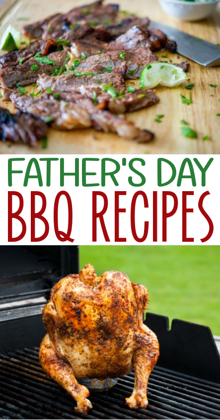 father's Day BBQ Recipes roundup