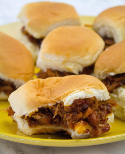 Super easy and oh so delicious mini bbq sliders that everyone loves perfect for father's day