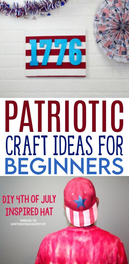 Patriotic Craft Ideas for Beginners Roundups