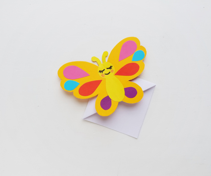 paper butterfly corner bookmark