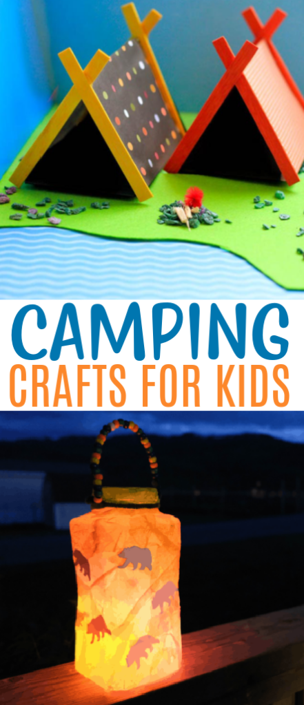 Camping Crafts For Kids roundup
