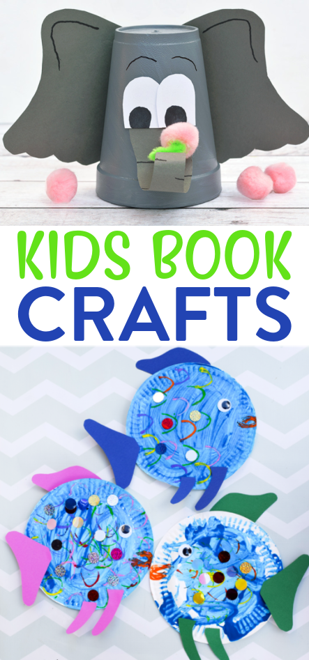 Kids Book Crafts Roundup