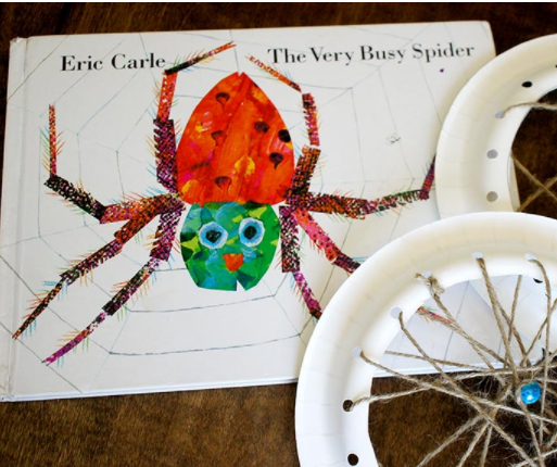 The Very Busy Spider – Spider Webs Perfect Craft For Kids