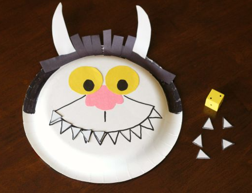 Where the Wild Things Are Counting Game Fun Craft For Kids