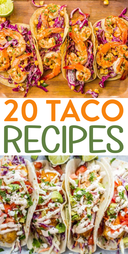 20 Taco Recipes You're Going to Love Roundups