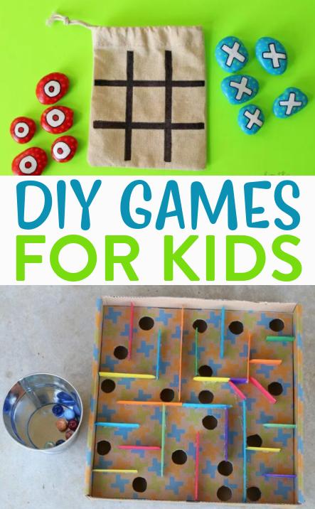 DIY Games for Kids Roundups
