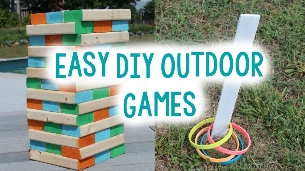 Homemade fun and exciting outdoor summer games for kids