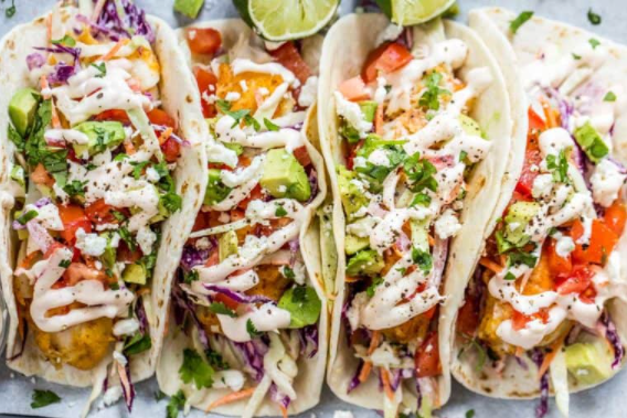 Easy to make fish tacos recipe with cabbage slaw