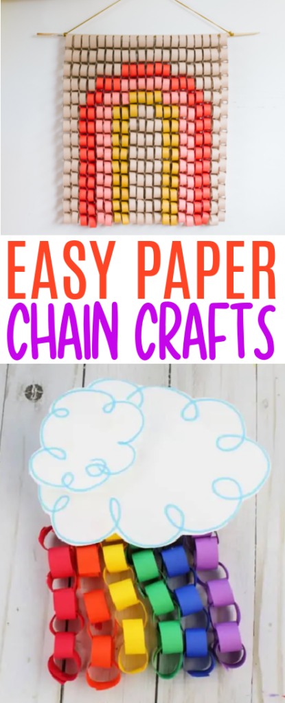 Easy Paper Chain Crafts roundup