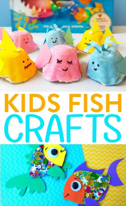 Kids Fish Crafts Roundups