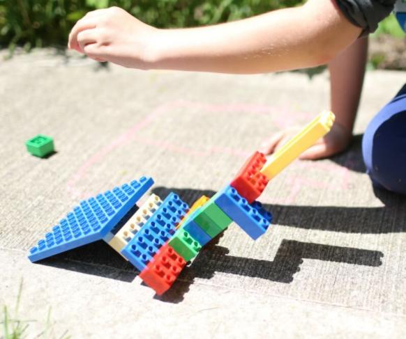 Torres de sombra Lego