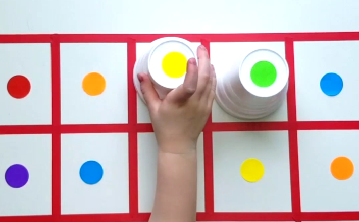Fun and simple homemade math games for kids at home