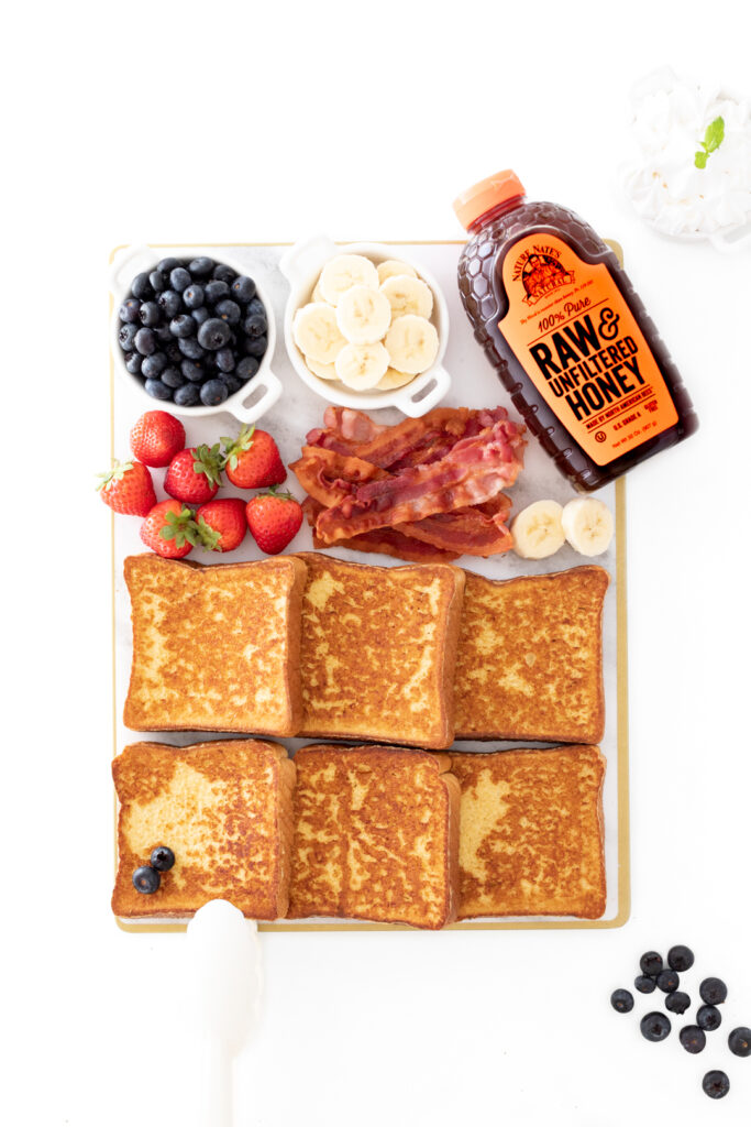 French toast board for two perfect for comfort breakfast