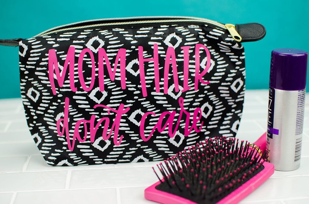 Easy and quick cricut iron-on bag craft project