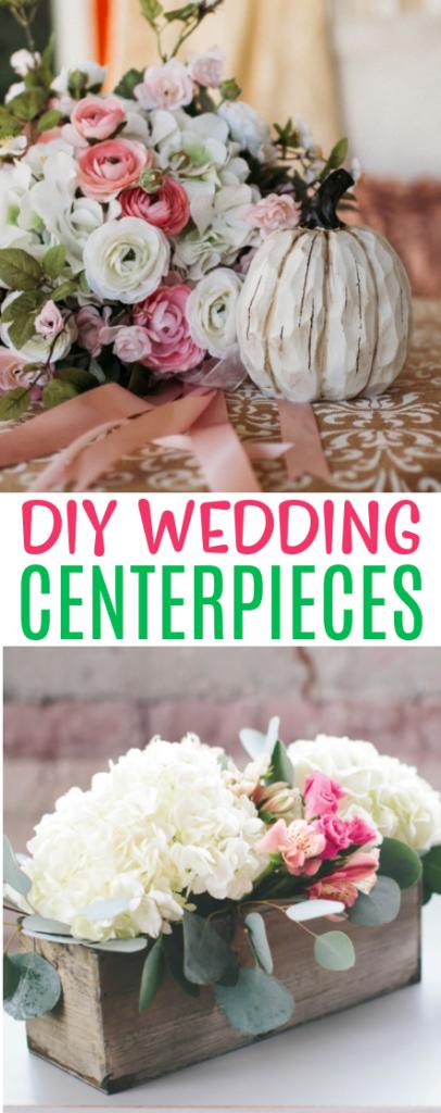 DIY Wedding Centerpieces Roundups