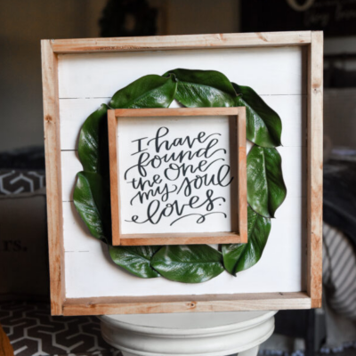 Wedding Signs You Can Make Yourself