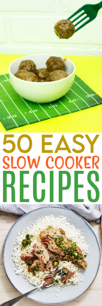 50 Easy Slow Cooker Recipes Roundups
