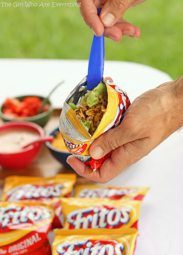 Tacos in a bag