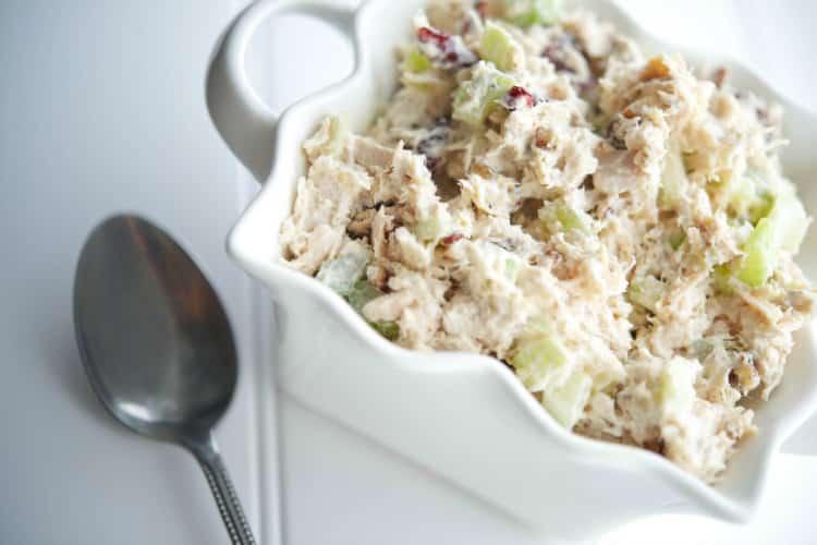 Cranberry Pecan Turkey Salad