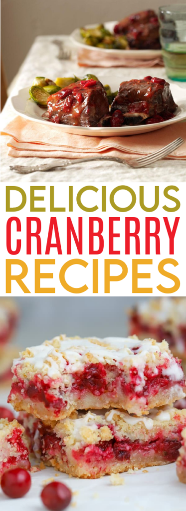 Delicious Cranberry Recipes You'll Love Roundup