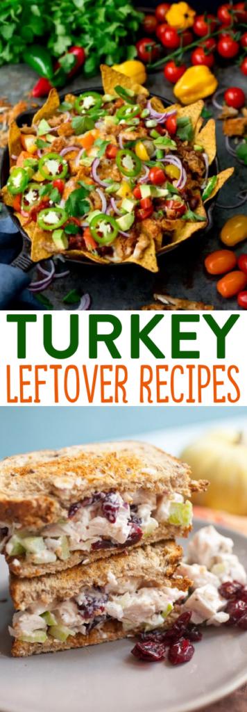 Turkey Leftover Recipes roundups