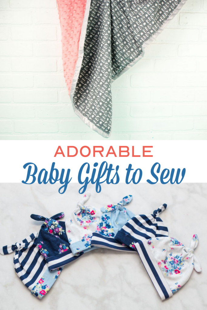 Adorable Baby Gifts to Sew Roundup